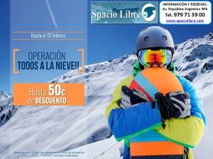 Operación: Todos a la Nieve