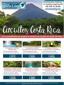 Costa Rica hasta Noviembre 2016