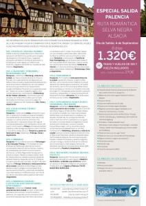 APAV RUTA ROMÁNTICA SelvaNegra Alsacia 4Sept Palencia APAV