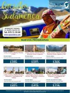 Circuitos Sudamérica hasta Noviembre 2016