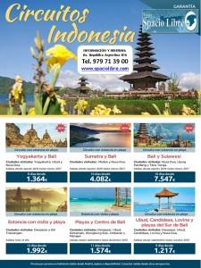 Circuitos Indonesia hasta marzo 2017