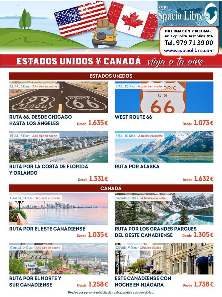 ESTADOS UNIDOS Y CANADA
