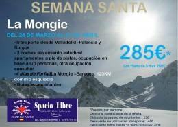 LA MONGIE- Semana Santa del 28 al 1 Abril de 2018