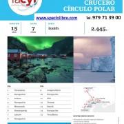CRUCERO Circulo Polar