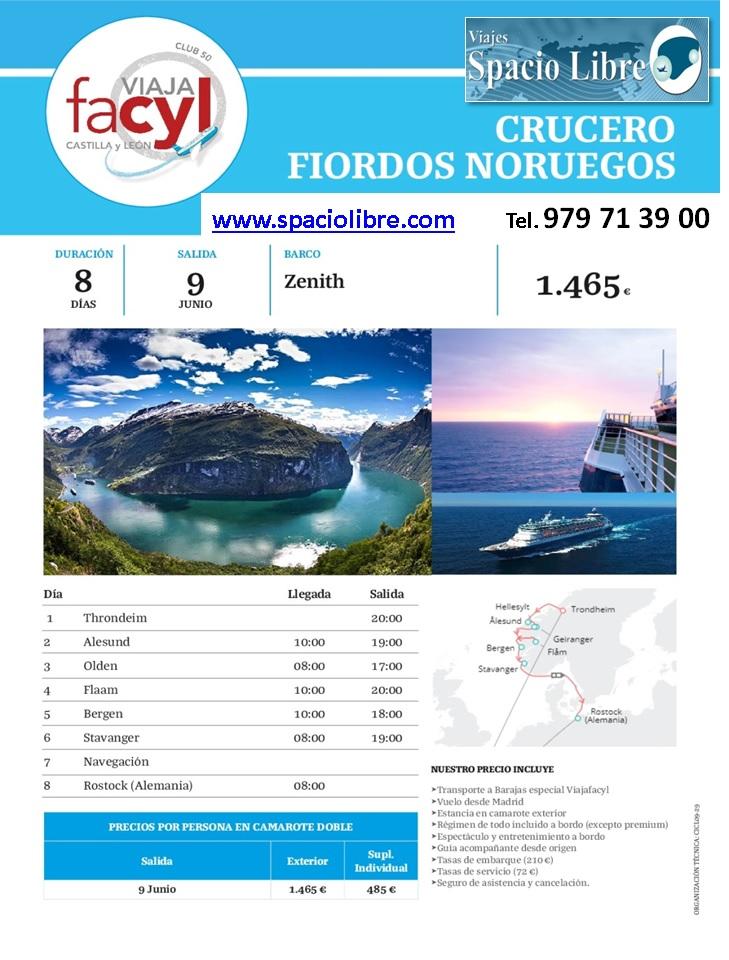 09-06-18 CRUCERO FIORDO NORUEGOS VIAJAFACYL 2018-2